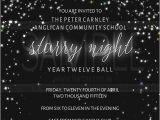 Starry Night Birthday Invitations New Invitation Starry Night