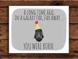 Starwars Birthday Card 7 Best Images Of Star Wars Free Printable Cards Star