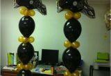 Steelers Decorations Birthday Steelers Balloon towers Steeler Balloons