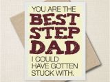 Step Dad Birthday Cards You 39 Re the Best Step Dad Father 39 S Day Card Funny Card