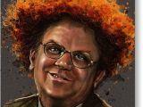 Steve Brule Birthday Card Dr Steve Brule Painting by Fay Helfer