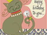 Stoner Birthday Cards Cat with Crown Birthday Card Flickr Photo Sharing