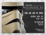 Stormtrooper Birthday Invitations Star Wars Invitation Stormtrooper Invitation Star Wars