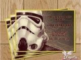 Stormtrooper Birthday Invitations Star Wars Stormtrooper Printable Birthday Invitation
