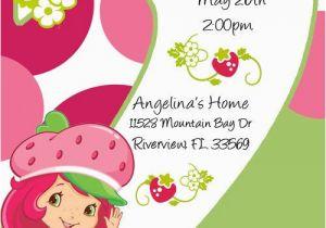 Strawberry Shortcake 1st Birthday Invitations 45 Best Strawberry Shortcake Images On Pinterest