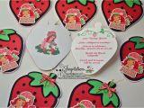 Strawberry Shortcake 1st Birthday Invitations Jingvitations Strawberry Shortcake Birthday Party Invitations
