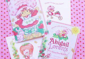 Strawberry Shortcake 1st Birthday Invitations Vintage Strawberry Shortcake 1st Birthday Party Minted