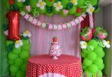 Strawberry Shortcake Birthday Decorations Partylicious events Pr Vintage Strawberry Shortcake