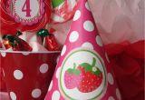 Strawberry Shortcake Birthday Decorations Strawberry Shortcake Party