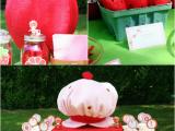 Strawberry Shortcake Birthday Party Decorations Diy Strawberry Shortcake Birthday Party Ideas Party