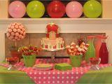 Strawberry Shortcake Birthday Party Decorations Patty Cakes Bakery Strawberry Shortcake Birthday Party