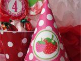 Strawberry Shortcake Birthday Party Decorations Strawberry Shortcake Party