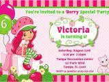 Strawberry Shortcake Personalized Birthday Invitations Free Printable Strawberry Shortcake Birthday Party