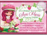 Strawberry Shortcake Personalized Birthday Invitations Strawberry Shortcake Birthday Invitations the New