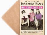 Stripper Birthday Cards Male Stripper Birthday Card for Her