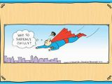 Super Funny Birthday Cards Superman toupee 1 Card 1 Envelope Rhymes with orange