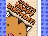 Super Funny Birthday Cards Tiger Super Fun Happy Birthday Card Fuzzballs Comic