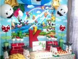 Super Mario Bros Birthday Decorations 154 Best Super Mario Bros Party Ideas Images On Pinterest