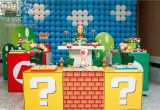 Super Mario Bros Birthday Decorations Innovative and original Children 39 S Party Ideas Kids and