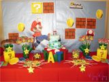 Super Mario Bros Birthday Decorations Label Ideas