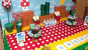 Super Mario Bros Birthday Decorations Super Mario Birthday Party Popsugar Moms