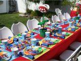 Super Mario Bros Birthday Decorations Super Mario Bros Birthday Party Ideas Photo 3 Of 5