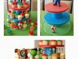 Super Mario Bros Birthday Decorations Super Mario Bros Party Ideas Yvonnebyattsfamilyfun