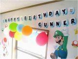 Super Mario Happy Birthday Banner Items Similar to Super Mario Clouds Happy Birthday Banner