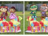 Super why Birthday Decorations Super why Birthday Party