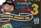 Super why Birthday Invitations Super why 4×6 Birthday Party Chalkboard by