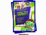 Super why Birthday Invitations Super why Invitation Pbs Super why Birthday Invitation