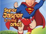 Superhero 1st Birthday Invitations 25 Best Ideas About Superman Invitations On Pinterest