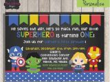 Superhero 1st Birthday Invitations Best 25 Superhero First Birthday Ideas On Pinterest