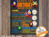Superhero 1st Birthday Invitations First Birthday Chalkboard Despicable Me Superheroes Party