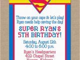 Superhero Birthday Invitation Wording 25 Best Ideas About Superman Invitations On Pinterest