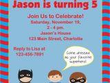 Superhero Birthday Invitation Wording Birthday Invites Free Download Superhero Birthday Party