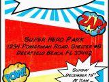 Superhero Birthday Invitation Wording Superhero Birthday Invitation Template