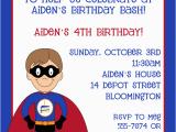 Superhero Birthday Invitation Wording Superhero Birthday Invitations