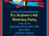 Superhero Birthday Invitation Wording Superhero Birthday Invitations Printable Templates