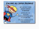 Superhero Birthday Invitation Wording Superhero Birthday Party Invitation Wording Oxsvitation Com