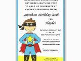 Superhero Birthday Invitation Wording Superhero Boy Invitations Clearance Paperstyle