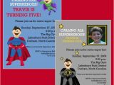 Superhero Birthday Invitation Wording Superhero Party Birthday Invitation Printable by