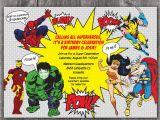 Superhero Birthday Invitation Wording Superhero Party Invitations Party Invitations Templates