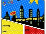 Superhero Birthday Invitations Free Free Superhero Party Invitation Encore Kids Parties