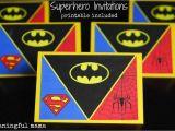 Superhero Birthday Invitations Free How to Create A Superhero Backdrop