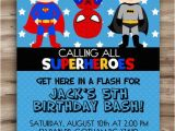 Superhero Birthday Invitations Free Superhero Birthday Invitation Superhero by Kawaiikidsdesign
