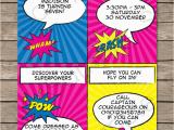 Superhero Birthday Invitations Free Superhero Girl Party Invitations Template Supergirl Party