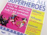 Superhero Newspaper Birthday Invitations Girls Superhero Newspaper Custom Printable Birthday Invitation