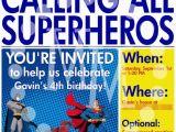 Superhero Newspaper Birthday Invitations Superhero Newspaper Birthday Invitation the Scrap Shoppe