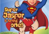 Superman 1st Birthday Invitations 25 Best Ideas About Superman Invitations On Pinterest
